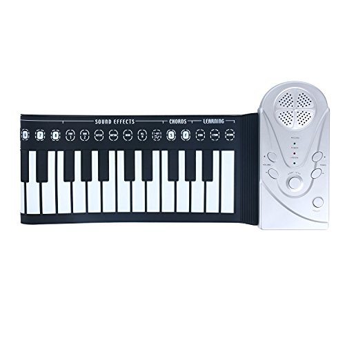 Homend 49 Key Roll Up Keyboard Piano Portable Soft Elastic Electronic Music Key Piano for Beginners Gift by Homend