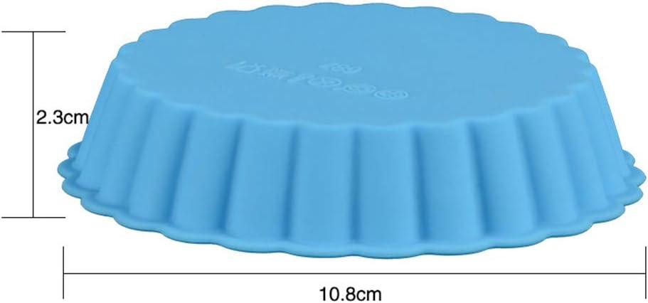 Turbobm Silikon Backform Obstkuchenform Eierkuchenform Backblech Runde Fondant Kuchenform Kuchenform Backenwerkzeuge