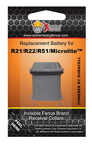 Invisible Fence Collar Compatible Battery - Long Life High Performance Dog Fence Battery - 4 Month Minimum Life on ALL Invisible Fence Brand Collar Receivers