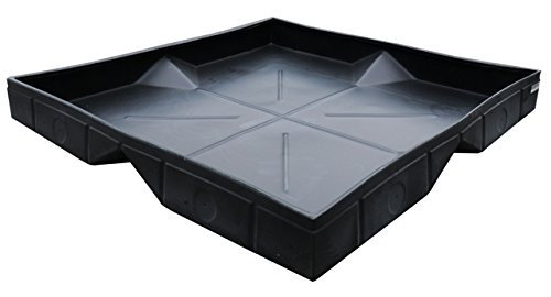 UltraTech 9603 Ultra-Transformer Tray 4' X 4', Black (Tray Containment Ultra)