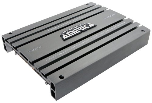 Pyramid PB618 2,000-Watt 4-Channel Bridgeable Mosfet Amplifier (Bridge 2 Channel Amp)