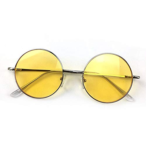 de la de retro Gafas calle redondo sol de sol versátiles Gafas moda de de NIFG marco vUwq6OFF