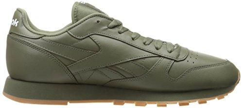 Reebok Men s Cl Lthr Gum Cu Fashion Sneaker a0d908f50