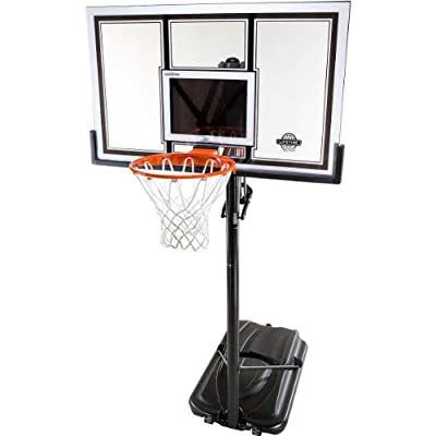 Lifetime 71524 XL Height Adjustable Basketball System, 54 inch Shatterproof Backboard 71799-P from Lifetime