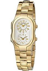 Philip Stein Signature Ladies Yellow Gold-tone Bracelet Watch 1GP-MWG-SS3GP