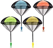 Parachute Toy, Tangle Free Throwing Toy Parachute, Outdoor Children's Flying Toys, No Battery nor Assembly