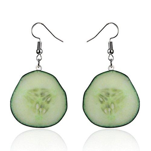Beuu Creative Fruit Earrings Fresh Fruit Earrings For Adorable Her Earrings Women Jewelry Gift (G)