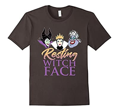 Funny Resting Witch Face T Shirt, Gift Halloween for Womens