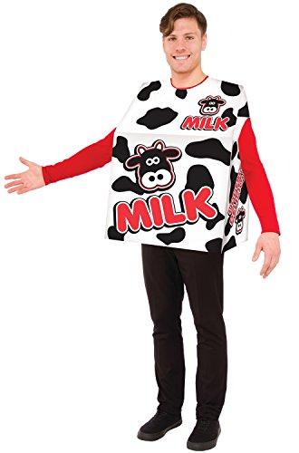 Forum Novelties Men's Milk Costume, As Shown,