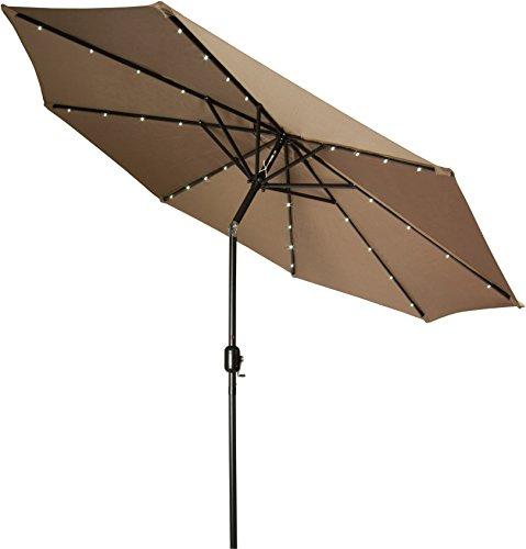 Trademark Innovations Powered Lighted Umbrella product image