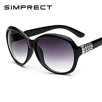 SQYJING Gafas de Sol para Gafas de Sol ovaladas Retro UV400 ...
