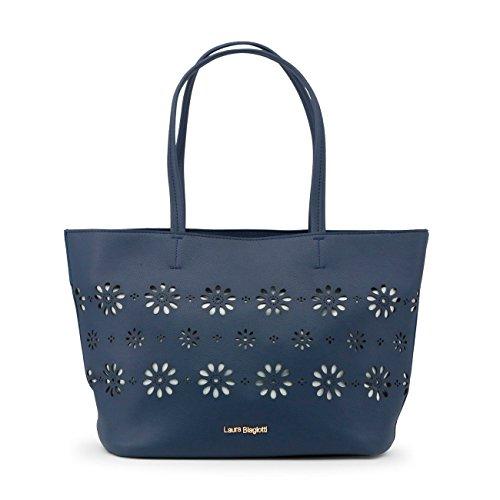 femme Sp détail clous Buzzao Sac bleu cabas stores RRwatq8