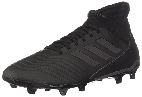 adidas Predator 18.3 Firm Ground Men's Soccer Cleats (8.5 M US) Black
