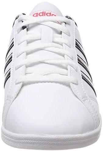 brand new 3cf4a f87a0 cblack Para Vs ftwwht ftwwht Tenis Adidas Blanco 000 Qt Mujer Coneo  Zapatillas De vWYqaw