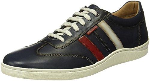 Tienda Calidad Herren 61105 Sneaker Verschiedene Farben (Marine / Rot / Weiß)