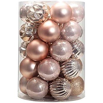 Amazon.com: KI Store 34ct Christmas Ball Ornaments Small 1 ...