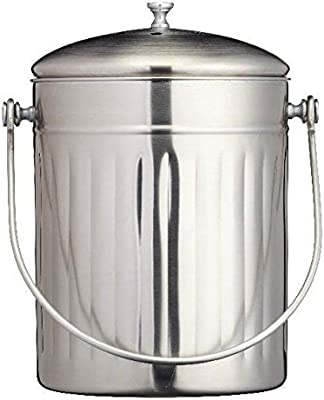 Cocina 5L Recipiente De Compostaje / Reciclaje Con Filtro De ...