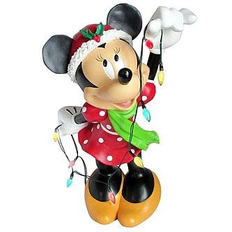 Minnie Mouse Outdoor Christmas Lights - 1