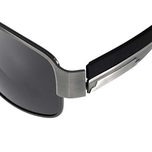 sol sol aire gafas sol de gafas moda de gafas de Ulable hombres gafas 8485 polarizadas al libre de wxSACTqC
