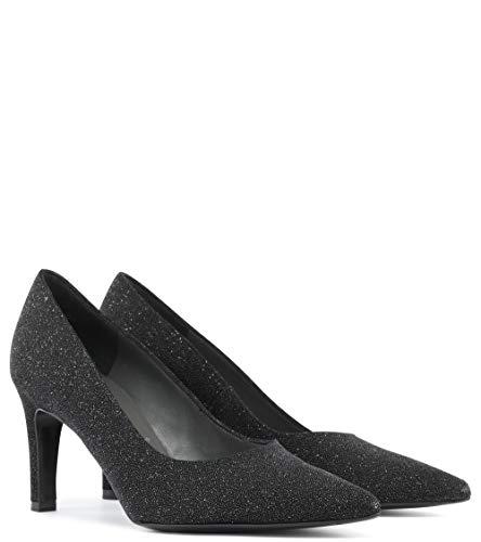Con Negro Cerrada Tacón Zapatos Mujer Kaiser Punta De Peter wWYIqT8xST