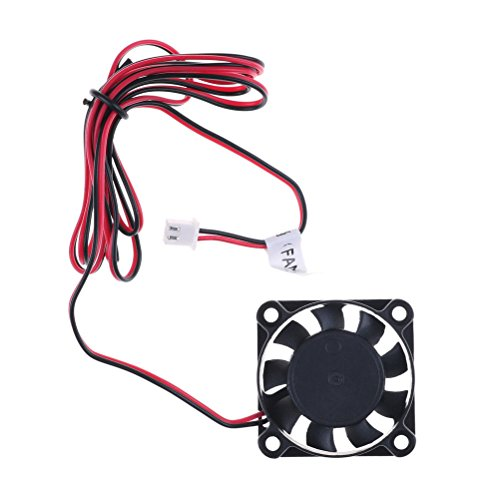 Om­_sell 24V 2-Pin DC Cooling Fan 40mm 40x40x10mm 4cm 4010s 9Blade RepRap 3D Printer Fast by Om­_sell