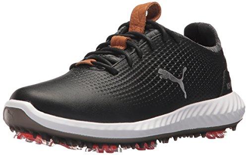 Golf Boys' Ignite Pwradapt Shoe Black/Black 3 Youth US Big Kid FREE SHIPPING