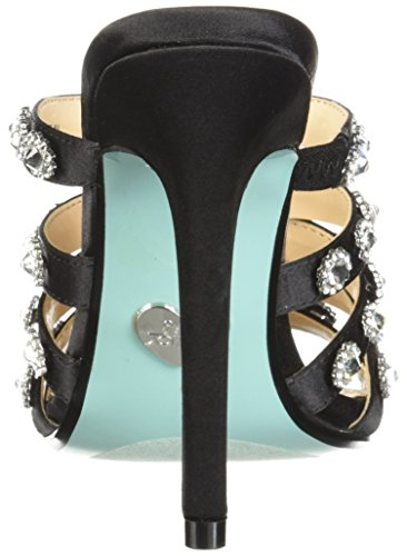 Johnson Donne Sandalo Sb Nero Raso In Tacco Di Betsey jovi Uxz8nSw