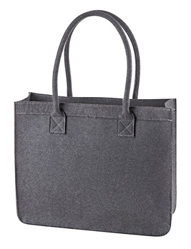 HALFAR® HF7556 City Shopper Modernclassic Freizeittaschen Einkaufstaschen Tasche anthracite
