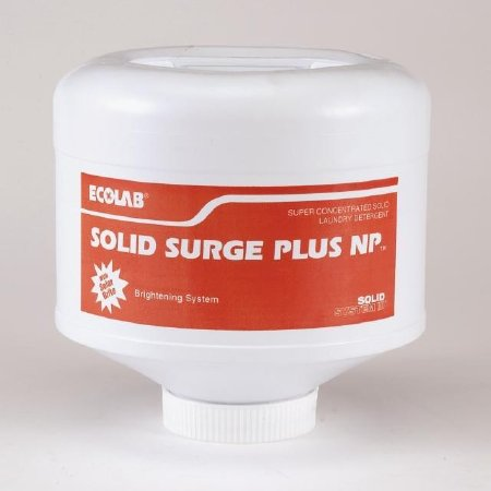 Ecolab 17905 Laundry Soap, Commercial-Grade Solid Surge Plus Laundry Detergent - 9 pound solid (4/cs) by Ecolab