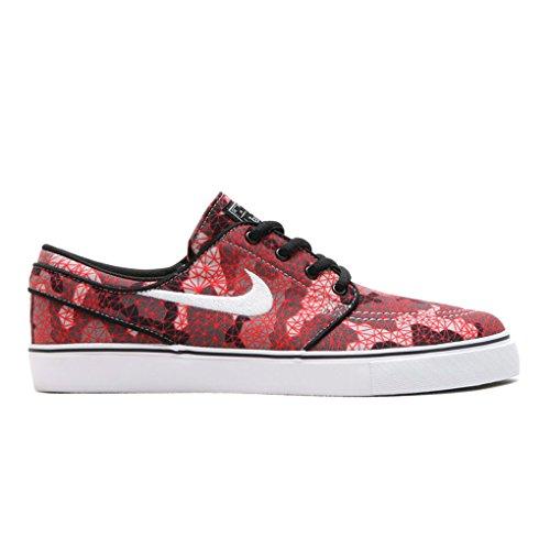 Nike Stefan Janoski Canvas Wolf Grey/Bright Crimson Youth