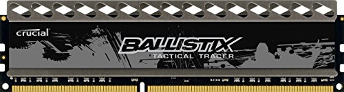Price comparison product image Crucial Ballistix Tactical Tracer 4GB Single DDR3 1866 MT/s (PC3-14900) CL9 @1.5V UDIMM 240-Pin Memory BLT4G3D1869DT2TXOB