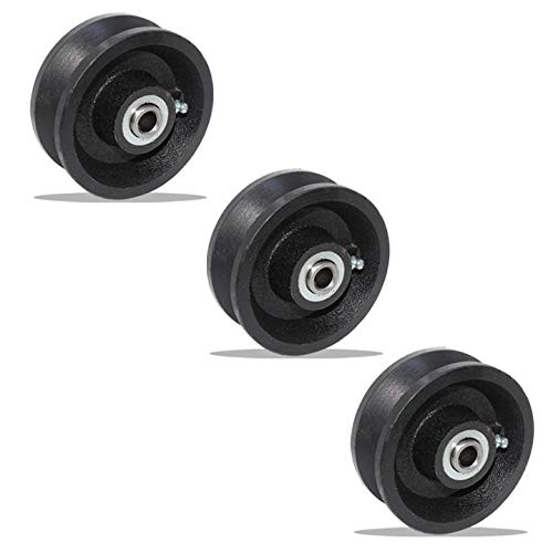 Set of 3 of V-Groove Wheel 4