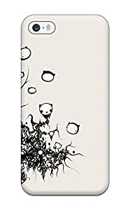 Fashion Protective Cute Bear Illustration Case Cover For Iphone 5/5s