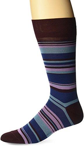 Bruno Magli Unisex-Adult's Vortex Socks, purple, One Size