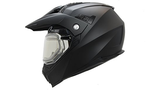 Vega Helmets unisex-adult not applicable Electric Snow Helmet (Matte Black, X-Large), 1 Pack