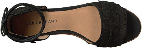 Womens Schwarz Sandbox Gelso Sandale US Lk Lucky Brand H5fqxw0R