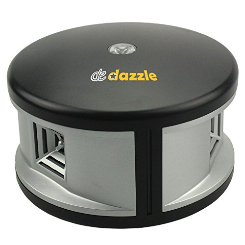 Toughest 360 Degree Ultrasonic Pest Repeller – 3 Speakers for Electronic Pest Control Against Crickets, Rats, Mice, Spiders, Cockroaches, Silverfish, Insects, Rodents, Flies, Roaches and Ants. by De Dazzle