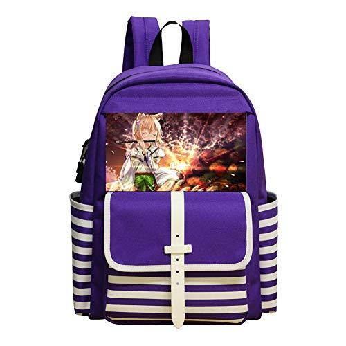 Student Backpack School Bag Anime Original Cool Various Super Bookbag Break For Boys&Girls]()
