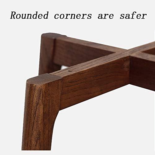 ホームレジャー ソリッドウッドスツール-ホームアダルトベンチ、シンプルなソリッドウッドスクエアスツール、ホームダイニングチェア、ベンチ、低スツール、木製ベンチ、リビングルームテーブルスツール