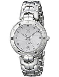 TAG Heuer Womens WAT1312.BA0956 Link Analog Display Swiss Quartz Silver Watch