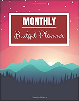monthly budget planner red sky design budget planner book with