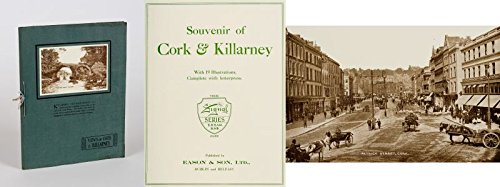 Souvenir of Cork & Killarney. With 19 [tipped in] Illustrations [early photographs], complete with Letterpress.