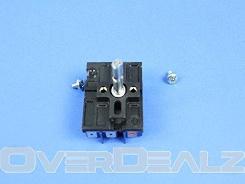Amana 12002422 Cooktop Element Control Switch Genuine Original Equipment Manufacturer (OEM) part for Amana