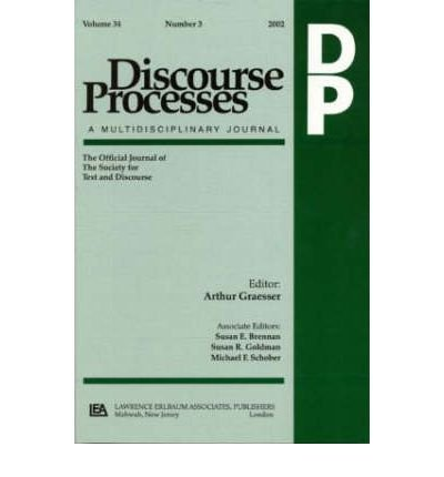 """Download [(Argumentation in Psychology 2001: A Special Double Issue of """"Discourse Processes"""")] [Author: James F. Voss] published on (July, 2002) pdf epub"""