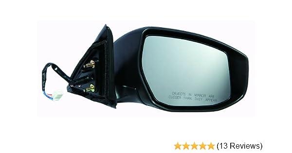 Sedan 4 door Without Signal Depo 315-5419R3EB Nissan Altima Sedan 2.5L Passenger Side Non-Heated Power Mirror