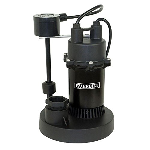 Everbilt 1/3 HP Submersible Sump Pump with Vertical by Everbilt