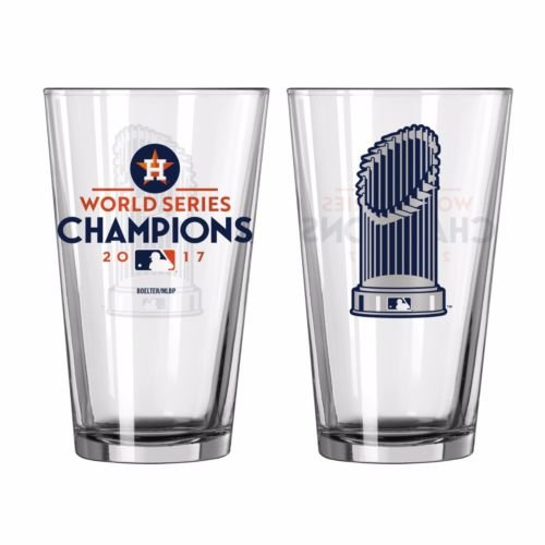 Houston Astros 2017 World Series Champions 16oz. Trophy Pint - Series Champions World Glass