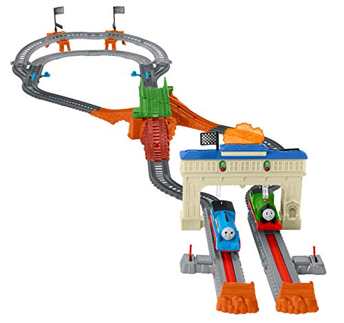 Fisher-Price Thomas & Friends TrackMaster, Thomas & Percy's Railway Race Set ()