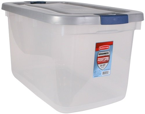 Rubbermaid 1785785 Roughneck Clear 66 Quart product image
