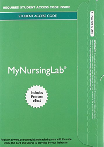 MyNursingLab with Pearson eText -- Access Card -- for Medical-Surgical Nursing: Clinical Reasoning in Patient Care